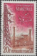 FRANCE 1959 French Technical Achievements - 20f. Marcoule Atomic Power Station FU - France