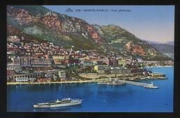 Monte-Carlo. *Vue Générale* Ed. C.A.P. Nº 278. Nueva. - Monte-Carlo