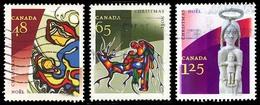 Canada (Scott No.1965-67 - Noël / 2002 / Christmas) (o) Série De 3 / Set Of 3 - 1952-.... Règne D'Elizabeth II