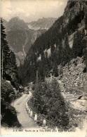 Route De La Tete Noire Et Le Pont De Litthoz - VD Waadt