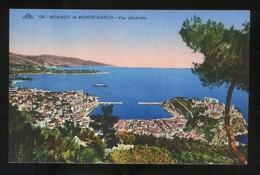 *Monaco Et Monte-Carlo - Vue Générale* Ed. C.A.P. Nº 138. Nueva. - Monte-Carlo