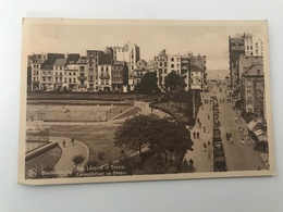 Carte Postale Ancienne   Blankenberghe Rue Léopold Et Tennis - Blankenberge