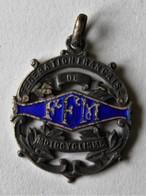Médaille Moto Insigne FFM Fédération Française De Motocyclisme 1966 Couturier Gabriel - Motos