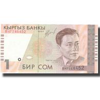 Billet, KYRGYZSTAN, 1 Som, Undated (1999), KM:15, NEUF - Kirghizistan
