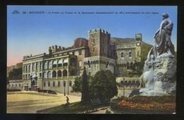 *Le Palais Du Prince Et Le Monument Commémoratif... Ed. C.A.P. Nº 36. Nueva. - Palacio Del Príncipe