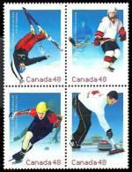 Canada (Scott No.1939a - Olympiques D'hiver / 2002 / Olympic Winter Games) [**] - 1952-.... Règne D'Elizabeth II