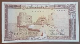 HX - Lebanon 1983 25 Livres, A-UNC - Lebanon
