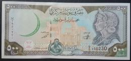 HX - Syria 1998 500 Livres UNC - Syrie