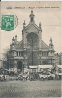 Brussel - Bruxelles - Marché Et Eglise Sainte Catherine - V.P.F. - 1913 - Markten