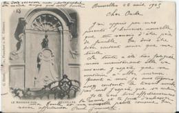 Brussel - Bruxelles - Le Manneke-Piss - G. Blümlein - 1905 - Personnages Célèbres