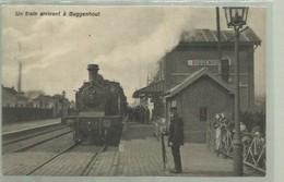 **1 X  BUGGENHOUT   **  Un Train Arrivant  à . . . . . . - Buggenhout
