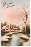 L74A527  - Bonne Année - Paysage D'hiver -  N°5250 - Nieuwjaar