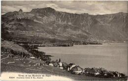 Rivaz Et Les Rochers De Naye - VD Vaud