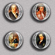 Writer Wolfgang Von Goethe ART BADGE BUTTON PIN SET 1 (1inch/25mm Diameter) 35 DIFF - Celebrities