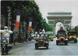 SPORT CYCLISME TOUR DE FRANCE CARAVANE PUBLICITAIRE CHAMPS-ELYSÉES PARIS PNEUS MICHELIN BIBENDUM - Cyclisme