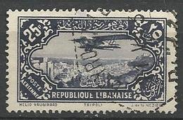 GRAND LIBAN PA  N° 46 OBL TB - Aéreo