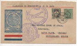AIR MAIL LETTER 17 02 1939 #75 - Filippine
