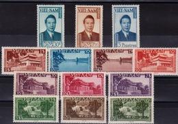 VIET-NAM - N° 1/13** - Empereur  BAO-DAI. Vues De Saïgon. Hanoï. Hué - Luxe. - Vietnam