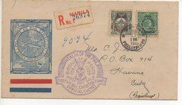 REGISTERED AIR MAIL LETTER 17 02 1939 #76 - Filippine