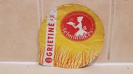 Lithuania Litauen Sour Cream 30% 450 G. - Milk Tops (Milk Lids)