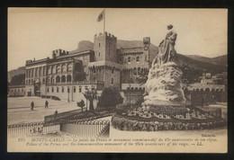 Monte-Carlo. *Le Palais Du Prince...* Ed. LL. Nº 195. Nueva. - Palacio Del Príncipe