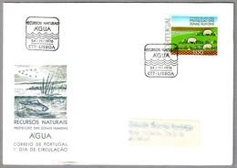 RECURSOS NATURALES - AGUA - NATURAL RESOURCES. Lisboa 1976 - Protección Del Medio Ambiente Y Del Clima