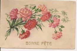 L74A530 Et 532  - Bonne Fête - Lot De Deux Cartes - Oeillets - Other