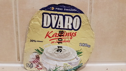 Lithuania Litauen Dvaro Kastinys  180g. - Milk Tops (Milk Lids)