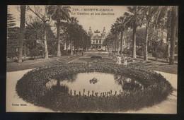 Monte-Carlo. *Le Casino Et Les Jardins* Ed. Giletta Nº 719. Nueva. - Casino