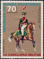 GUINEA ECUATORIAL - YW0737 Cavalry Uniforms  / Mint NH Stamp - Equatorial Guinea