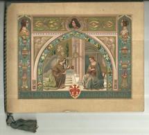 "1697 "" CALENDARIO GHIRLANDAIO 1911 - 12 TAVOLE B/N E COLORI+ CALENDARIO "" DOC. ORIG. - Calendari"