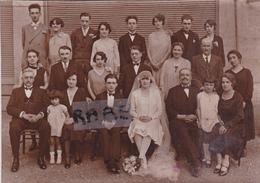 PHOTO ANCIENNE,17,CHARENTE MARITIME,MONTENDRE,MARIAGE,FAMILLE PERDRIAU,RESTAURATEUR,COMMERCANT,RARE - Plaatsen