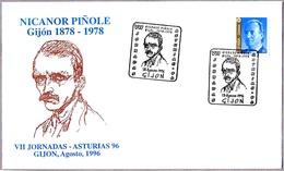 Pintor NICANOR PIÑOLE - Painter. Gijon, Asturias, 1996 - Arte