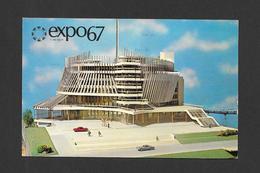 EXPO67 - EXPO 67 - MONTRÉAL CANADA - LE PAVILLON DE LA FRANCE - PAVILION OF FRANCE - Expositions