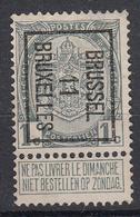 "BELGIË - OBP - PREO -1911 - Nr 17 B Type I - BRUSSEL ""11"" BRUXELLES - (*) - Precancels"
