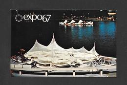 EXPO67 - EXPO 67 - MONTRÉAL CANADA - LE PAVILLON DE LA REPUBLIQUE FEDERALE D'ALLEMAGNE - PAVILION OF GERMANY - Expositions