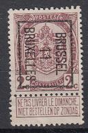 BELGIË - PREO - Nr 19 B - BRUSSEL 11 BRUXELLES - (*) - Precancels