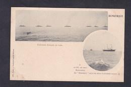 Dunkerque Cuirasses Francais En Rade Rencontre Du Standart Suivi De Cuirasses Russes  (Visite Empereur Russie L'H Paris) - Dunkerque