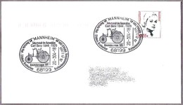160 Años Nacimiento CARL BENZ - VEHICULO  BENZ 1885. Mannheim 2004 - Boten