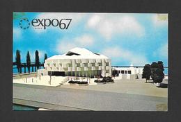 EXPO67 - EXPO 67 - MONTRÉAL CANADA - LE PAVILLON D'ISRAEL - PAVILION OF ISRAEL - Expositions