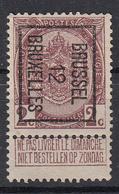 BELGIË - PREO - Nr 25 B - BRUSSEL 12  BRUXELLES - (*) - Precancels