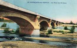 03- SAINT POURCAIN SUR SIOULE - LE PONT DE SAINT LOUP - Autres Communes