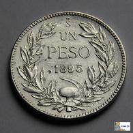 Chile - 1 Peso - 1895 - Chili
