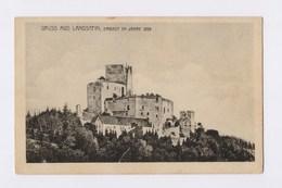 AK Gruss Aus LANDSTEIN, Burg Landštejn Erbaut Im Jahre 1259 - Ungelaufen - Böhmen Und Mähren