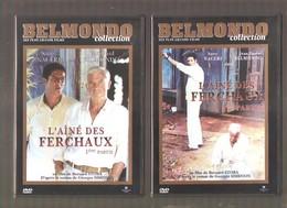 L'AÎNE DES FERCHAUX 1ère Et 2ème Partie - Collection BELMONDO Ses Plus Grands Films édité Par M6  - 2003 - Simenon - DVD