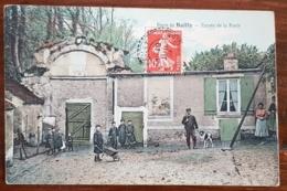 BAILLY (78) Entrée De La Foret. Carte Animée - France