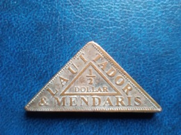 Sumatra - Indes Néerlandaises - 1/2 Dollar  - Nd - Laut Tador Mendaris - Plantation Token - Monete