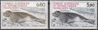 TAAF 1984 Yvert 107 - 108 Neuf ** Cote (2015) 3.80 Euro Phoque Crabier - Terres Australes Et Antarctiques Françaises (TAAF)