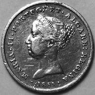 100 RÉIS 1851 PRATA  «D.MARIA II  1834-1853» - Portugal