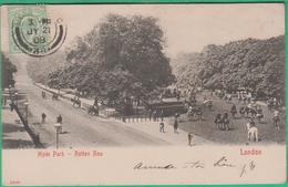 Angleterre - Hyde Park - Rotten Row - London - London